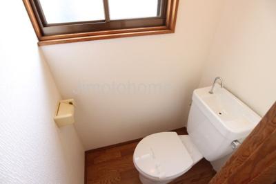 【トイレ】三軒家西貸家