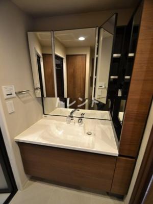 【浴室】パークホームズ新宿若松町