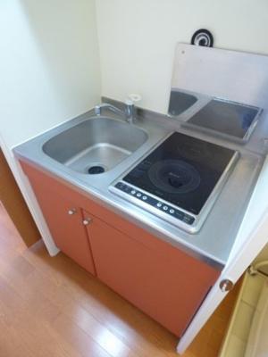 【キッチン】レオパレスマノワール