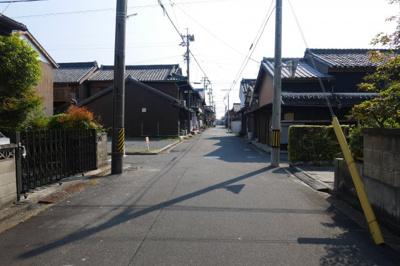 【前面道路含む現地写真】富田一色町 土地