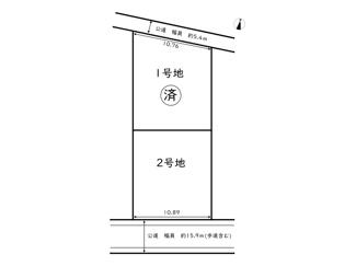 【土地図】大津区恵美酒町一丁目売土地
