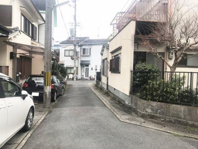 【前面道路含む現地写真】京都市左京区修学院開根坊町