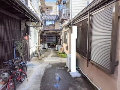 【前面道路含む現地写真】京都市東山区八軒町