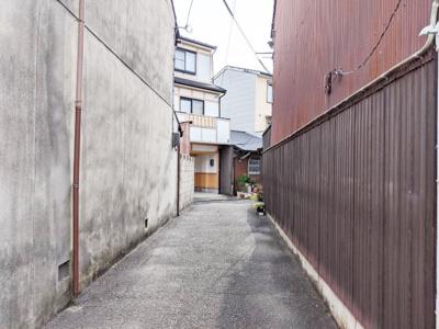 【前面道路含む現地写真】京都市南区東九条柳下町