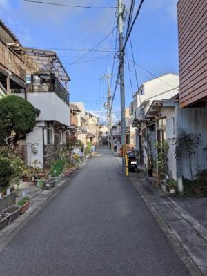 【前面道路含む現地写真】京都市伏見区納所北城堀