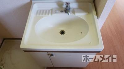【独立洗面台】パナハイツ古曽部