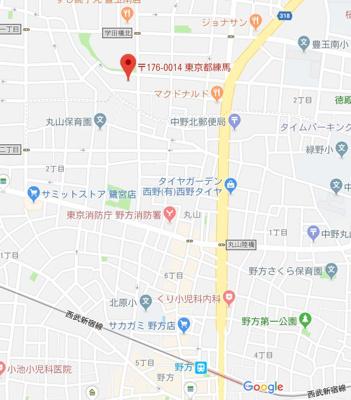 【地図】サザンジュエル