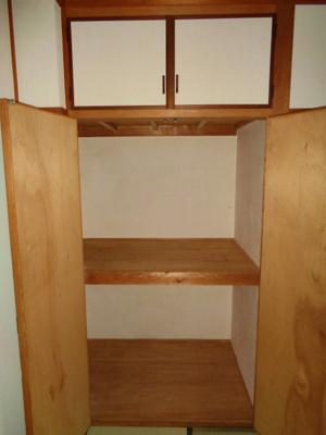 和室6畳 収納
