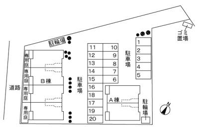 【玄関】サニーレジデンス Ⅱ番館