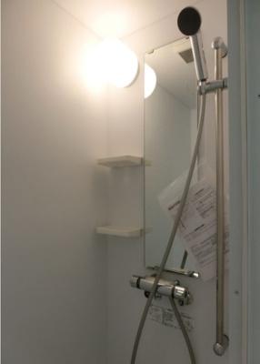 ハーモニーレジデンス四谷坂町の使いやすいシャワールームとなっています