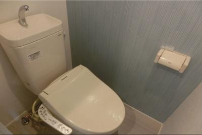 ハーモニーレジデンス四谷坂町の清潔感のあるトイレです