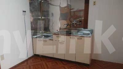 グリーンマンションのお料理しやすいキッチンです(現在内装中の為少し散らかっております)☆