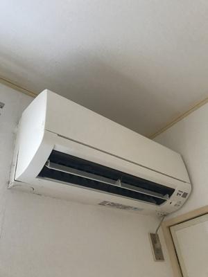 エアコン、各居室に完備です。