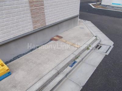 アッシュコート大山の駐輪スペース