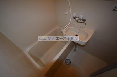 【浴室】ビラ菱屋西