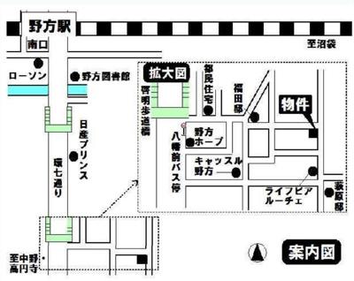 ウエストスクエアの地図☆
