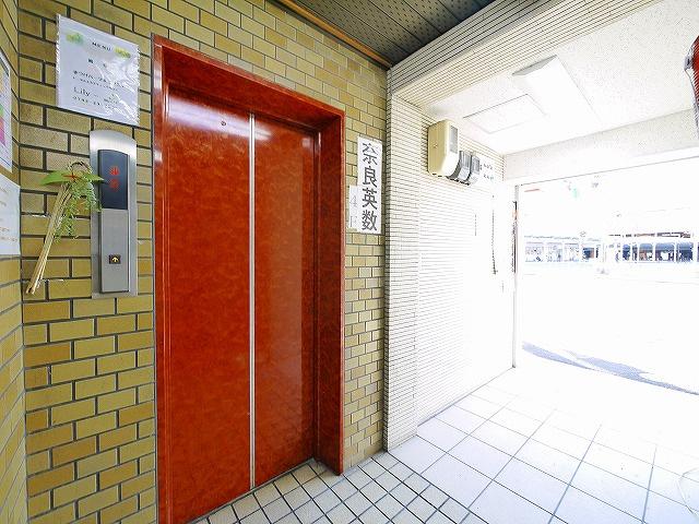 エレベーターつき