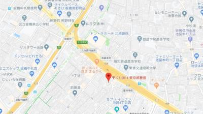 【地図】フェニックス池袋参番館