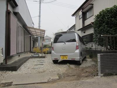 【駐車場】鴻巣市鎌塚3丁目戸建て