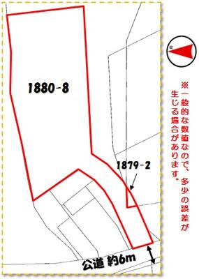 【区画図】うるま市兼箇段(358.63坪)