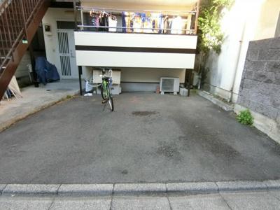 【駐車場】メゾンヤシキ