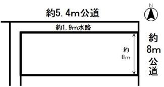 【区画図】54405 岐阜市領下土地