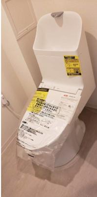 【トイレ】清新南ハイツ11号棟 8階 75.56㎡ リ ノベーション済