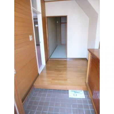 都賀の台戸建ての玄関