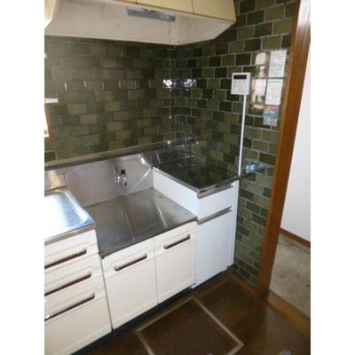 都賀の台戸建てのキッチン
