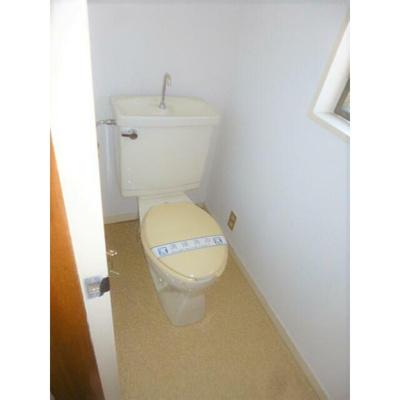 都賀の台戸建てのトイレ2