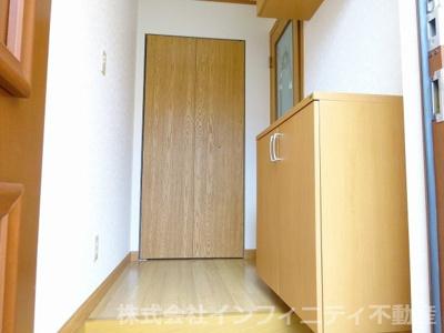 【玄関】クレベールⅡ番館