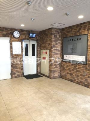 【エントランス】ファミールハイツ北大阪5号棟2番館