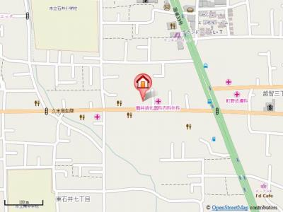 【地図】グランパレコートドール・