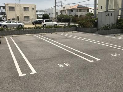 駐車場区画