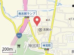 【地図】T山極ハイツ