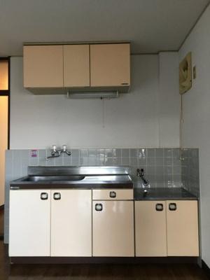 【キッチン】T山極ハイツ