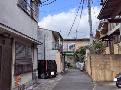 【前面道路含む現地写真】京都市山科区厨子奥若林町