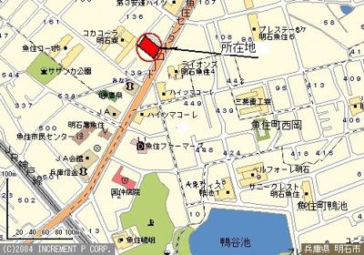 【地図】ハリマビル