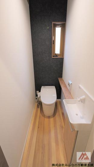 【トイレ】建築会社自慢の 真木町新築建売