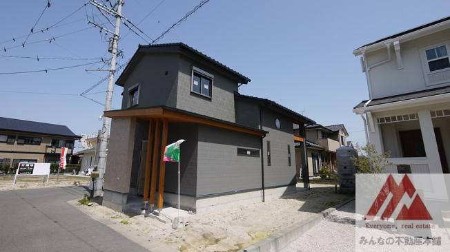 【外観】建築会社自慢の 真木町新築建売
