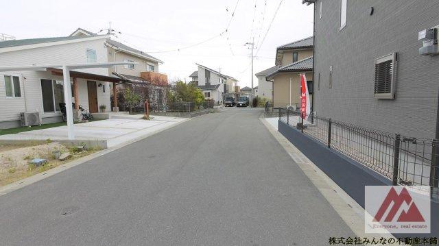 【前面道路含む現地写真】建築会社自慢の 真木町新築建売
