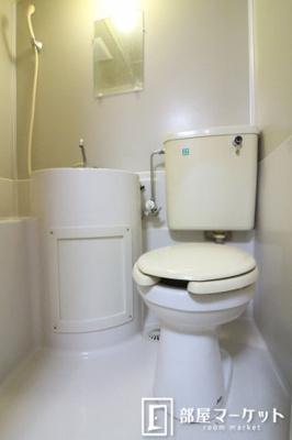【トイレ】福岡ワンルームマンション