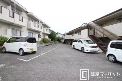 【駐車場】福岡ワンルームマンション