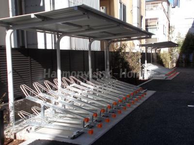 ROYGENT SUGAMO EASTの駐輪スペース☆