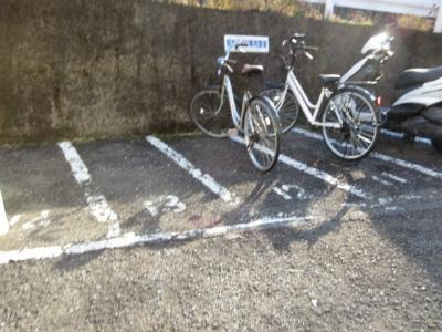 駐輪スぺース