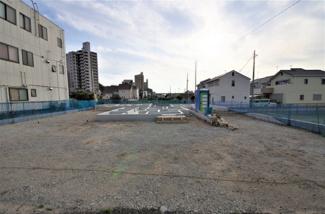 3号棟 現地(2019年6月)撮影 敷地面積144.76㎡(43.78坪)駐車並列2台可能!