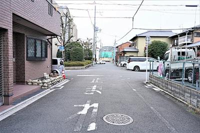 【前面道路含む現地写真】吉祥院八反田町 建築条件無し売土地