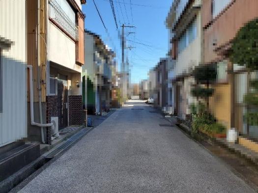 【前面道路含む現地写真】丸池町