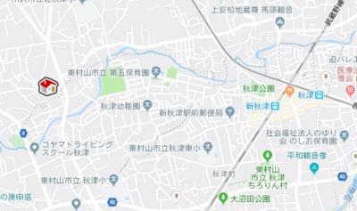 【地図】レオパレスゴールデンヴィレッッヂ(24887-109)