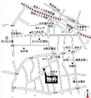 ライフピアチャームの地図☆